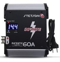 Fonte Stetsom 60a Infinite Automotiva Carregador De Bateria -
