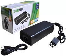 Fonte Xbox 360 Slim Bivolt 110v 220v C/ Cabo de Força - Feir