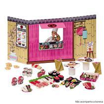 Food Truck Barbie Comidinhas Japonesas 7968-0 - Fun - Fun -