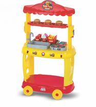 Food Truck Burguer Amarelo 8080 Magic Toys -