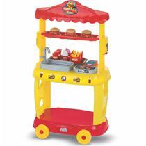 Food Truck Burguer Hamburgueria Mini Chef Magic Toys 8080 -
