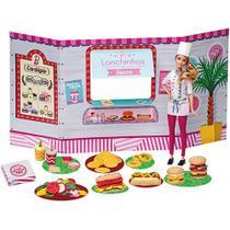 Food truck massinha barbie lanchinhos e sucos - Barao