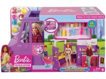 Foodtruck de Brinquedo Veículo de Aventura - Barbie com Acessórios Mattel -