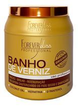 Forever Liss Cauter Restore + Máscara Banho De Verniz 1000g -