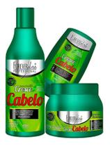 Forever Liss Cresce Cabelo Shampoo + Máscara 250g + Leave-in -