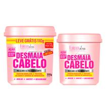 Forever Liss Desmaia Cabelo Kit - 2 Máscaras Ultra Hidratante - Forever liss professional