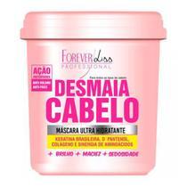 Forever Liss Desmaia Cabelo - Máscara Ultra Hidratante - Forever Liss Professional -