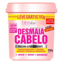 Forever Liss Desmaia Cabelo - Máscara Ultra Hidratante - Forever Liss Professional
