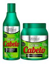 Forever Liss Kit Cresce Cabelo - Shampoo + Máscara 1kg -