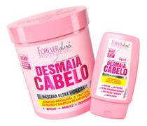 Forever Liss - Kit Desmaia Cabelo Máscara 950g + Leave-in -