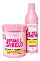 Forever Liss - Kit Desmaia Cabelo Shampoo + Máscara 950g -