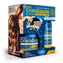 Forever Liss Kit Nano Cristalização Tratamento de Reequilíbrio Hídrico - Shampoo e Condicionador -