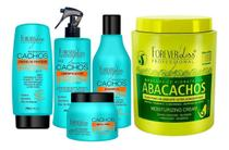 Forever Liss  Máscara Abacachos + Kit Completo Cachos -