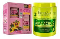 Forever Liss Máscara Abacachos + Kit Especial Desmaia Cabelo -