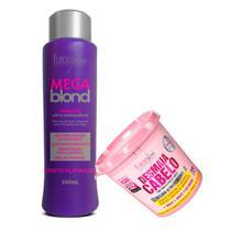 Forever Liss Máscaras Mega Blond Matizador E Desmaia Cabelo - Forever Liss Professional