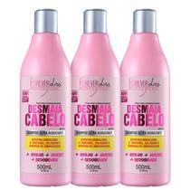 Forever Liss Professional Desmaia Cabelo - Shampoo 3x500ml -