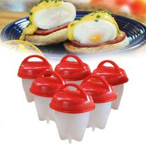 Forma 6 Copos Egglettes Cooking Ovos Cozinha Fácil Dieta - Megafun