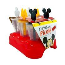 Forma de Picolé do Mickey Kit com 6 Forminhas com Palito Especial - Plasutil