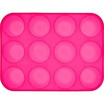 Forma de silicone cupcake com 12 cavidades - Sublime Cozinha