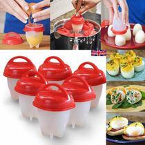 Forma de silicone para cozinhar ovo - kit girl -