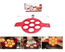 Forma de silicone para panquecas omeletes  ovos fritos wincy - Clink