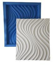 Forma Dunes Plástico + Eva Placa Gesso - Lindíssimo - Xmoldes Formas 3D