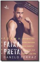 Forma faixa preta - vital - Editora pandorga