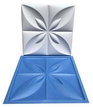 Forma Flor Do Oriente Plástico + Eva Placa Gesso - Lindíssimo - Xmoldes Formas 3D