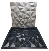 Forma Gesso 3d Abs Diamante 40x40 Envio Imediato Lindíssimos - Xmoldes formas 3d