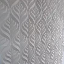Forma Gesso Plástico e Borracha Placa 3D - Folhas - Xmoldes