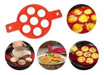Forma Molde De Silicone Para Panquecas E Ovos 7 Cavidades - Top Rio