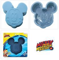 Forma Para Bolo De Silicone Molde Mickey Confeitaria Festas E Decorações Forno microondas E Freezer - Etihome