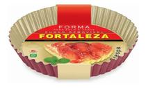 Forma Para Bolo/torta Crespa Fundo Removível 20 cm - Fortaleza -