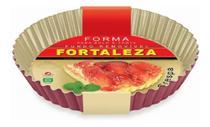 Forma Para Bolo/torta Crespa Fundo Removível- Fortaleza -