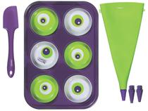 Forma para Cupcake Antiaderente Tramontina - Kit MonsterChef