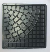 Forma Quadrada Trabalhada Calçada Cimento 32x32x2,5 - Fp024 - Brasfort