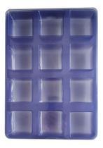 Forma Sabonetes Quadrados - 12 Cavidades - Kit 4 Cartelas - Bianquimica