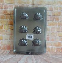 Forma Sabonetes Sapinhos - Com 6 Cavidade  Kit 5 Cartelas - Bianquimica