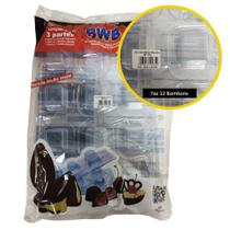 Forma Silicone BWB Bolo Bombom Chocolate SP 1074 Especial -