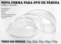 Forma Silicone P/ Ovo De Chocolate 250 Kits P/ Revenda - Samara Embalagens