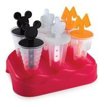 Forma Sorvete Picolé Infantil Kids Mickey Mouse 6 Picolés - Plasutil