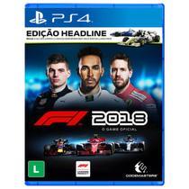Formula 1 F1 2018 - Edição Headline - PS4 - Codemasters