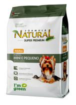 Formula natural dog adulto mini e peq 07 kg - Marca