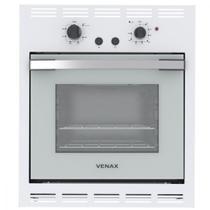 Forno a Gás de Embutir Venax Bianco 50 Litros Grill Branco  110V -