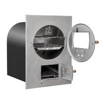 Forno A Lenha De Embutir Médio Inox 138 Litros FHI-IB2 Hidro Industrial -
