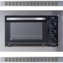 Forno Elétrico de Embutir 45 Litros em 220V Aço Inox Lady Acompanha Grades de Ventilação Safanelli FE 104 -
