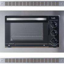 Forno Elétrico de Embutir 45 Litros em Aço Inox Lady 127V Acompanha Grades de Ventilação Safanelli FE 105 -