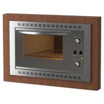 Forno Elétrico de Embutir 45 Litros Fogatti N450 Espelhado 220V -