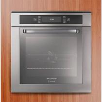 Forno Elétrico de Embutir 67 Litros Brastemp B0260 Painel Touch Inox 220V -