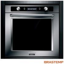 Forno Elétrico de Embutir Brastemp Gourmand com 73 Litros de Capacidade, Grill Inox -  BOC60BR -